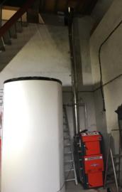 Leveren en installeren Atmos houtvergasser