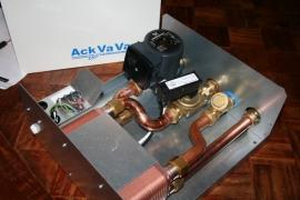 Varmebaronen warmwaterbereider / platenwisselaar in plaats van een boiler
