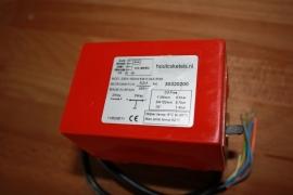 """Tweewegafsluiter met 2 x 1"""" binnendraad 230 volt met eindcontact"""