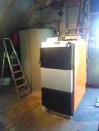 Leveren en installeren Piromax 100 kW