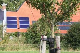 zonneboilerset met 6 panelen