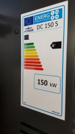 Geleverd en geïnstalleerd Atmos 150 kW ketel. Subsidie 14.600,-!!