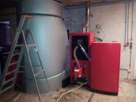 Pellet  cv ketel PLB 25 kW, V2
