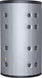 Buffervat 1.000 liter met isolatie