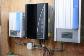 Vervangen omvormer PV panelen te Jelsum
