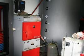 Modratherm aan 2000 liter buffer voor vloerverwarming