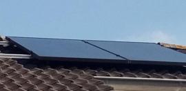 Plaatsen PV panelen
