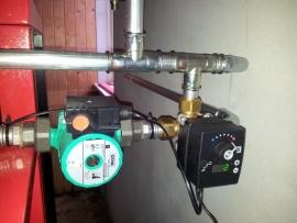 LK Mengmotor met mengklep / voor retourloopregeling (exclusief pomp)