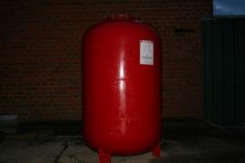 Expansievat 600 liter, 1.5 bar voordruk