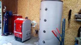 Installeren Atmos pelletketel te Rijssen