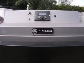 Piromax 75 kW  houtvergasser.