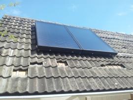 zonneboiler met verwarmingsondersteuning Te Avenhorn