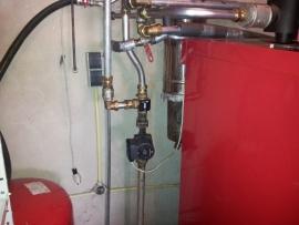 Houtvergasser onderhoud Dakon Damat kp pyro te Emmer-Compascuum