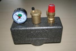 Ketelveiligheidsgroep met isolatie, tot 100 kW