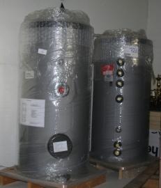 Solar Drinkwaterboiler, 200 liter, 2 buizen