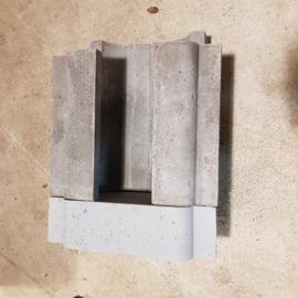 Attack branderkamer / brander stenen voor DP25, 25 kW houtvergasser