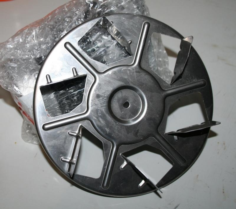 Dakon Ventilator KP32 Pyro, motor en ventilatorwaaier