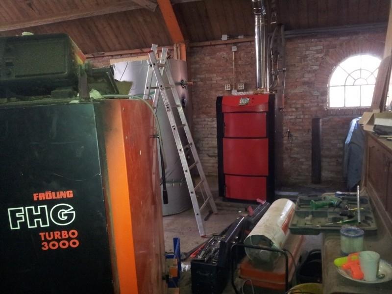 Leveren en installeren Houtvergasser burnit alpha 40/50 te Lutjegast