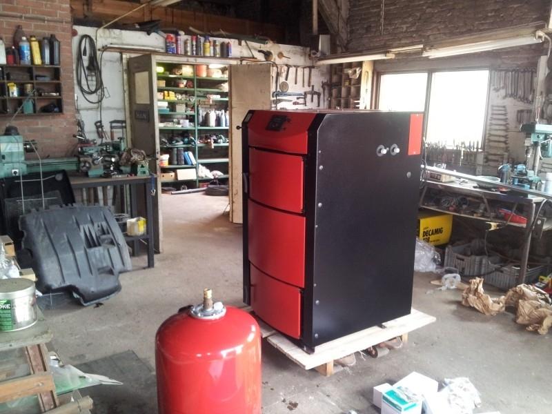 Houtvergasser Burnit Alpha 25/35 kW leveren te Zwartewaal