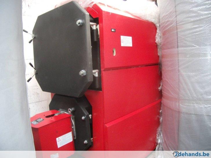 pelletketel magna 250 kW met pelletbrander 150 kW