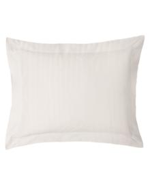 iSleep Kussensloop Satijnstreep (licht beige) 60x70