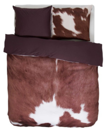 Essenza Dekbedovertrek Cow (brown) 140x200/220