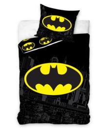 Batman Dekbedovertrek Logo (black/yellow) 140x200