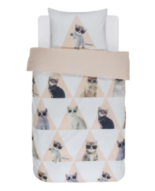 Covers & Co Dekbedovertrek Cool Cats (multi) 140x200/220