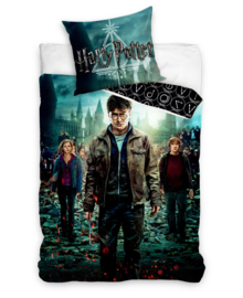 Harry Potter Dekbedovertrek Deathly Hallows (multi) 140x200
