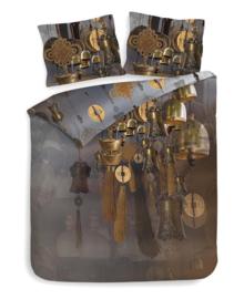 Heckett & Lane Dekbedovertrek Thomas (anthracite copper) 200x200/220
