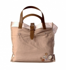 Stapelgoed Shopper Natural (sand)