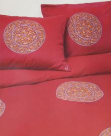 Walra Dekbedovertrek Marakesh (rood) 240x200/220