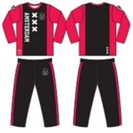 Ajax Pyjama XXX Kruizen (rood/zwart) Maat 104