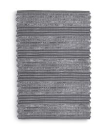 Heckett & Lane Badmat Solange (antracite) 60x100