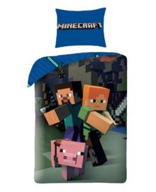 Minecraft Dekbedovertrek Good Guys (multi) 140x200