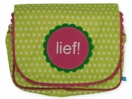 Lief! Dots and Flowers Toilettas (green)