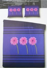 Covers & Co Dekbedovertrek Trio (purple) 200x200/220