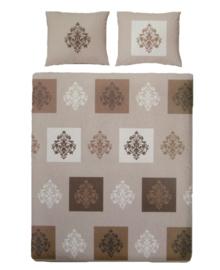 Covers & Co Dekbedovertrek Tasjkent (beige) 240x200/220