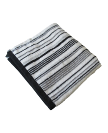 Aquanova Baddoek Stripes (grey) 50x100
