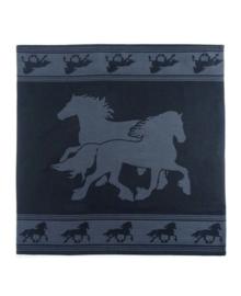 Viré Kitchen Theedoek Horse (black)
