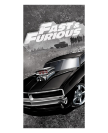 Fast & Furious Strandlaken Dodge Charger (grey)
