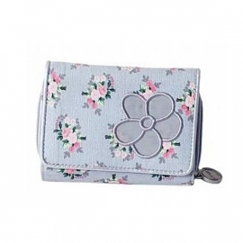 Stapelgoed Wallet Flower (pink)