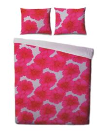 Covers & Co Dekbedovertrek Flower Chain (pink) 240x200/220