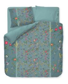 PiP Studio Dekbedovertrek Petites Fleurs (blue) 260x200/220