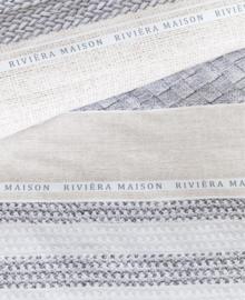 Riviera Maison Dekbedovertrek Woven Nature (grey) 240x200/220