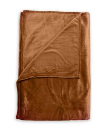 Zo! Home Plaid Cara (copper orange) 140x200