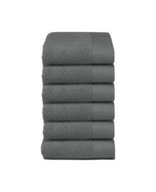Seahorse Gastendoekje Pure (graphite) 30x50