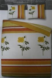 Covers & Co Dekbedovertrek Poppy (yellow) 200x200/220