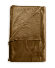 Zo! Home Plaid Cara (cognac brown) 140x200