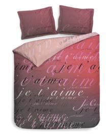Heckett & Lane Dekbedovertrek Luca (romance pink) 260x200/220